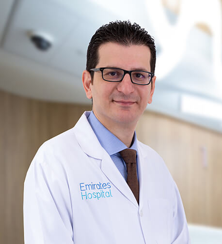 Dr Aseem Alhaj , Consultant Neuro Surgeon, Emirates Hospital, Jumeirah